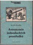 Mladý technik - Astronomie jednoduchých prostředků - Dr. Jiří Bouška