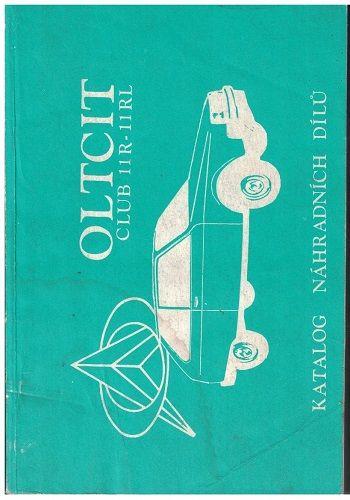 Oltcit club 11R - 11RL - katalog náhradních dílů