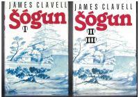 Šógun 1, 2 a 3 - James Clavell (kompletní)