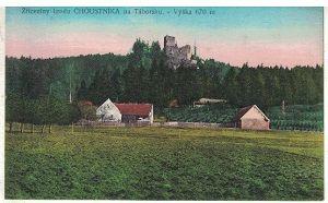 Hrad Choustník - Tábor