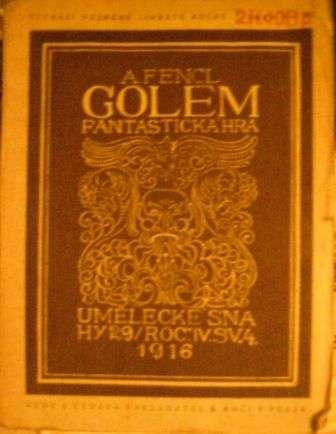 Golem (fantastická hra) - A. Fencl