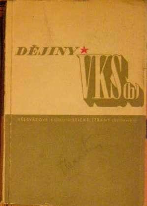 Dějiny všesvazové komunistické strany bolševiků