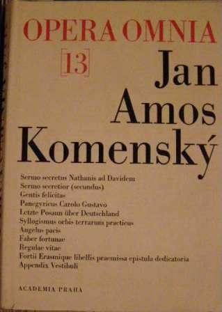 Opera omnia 13 - J. A. Komenský