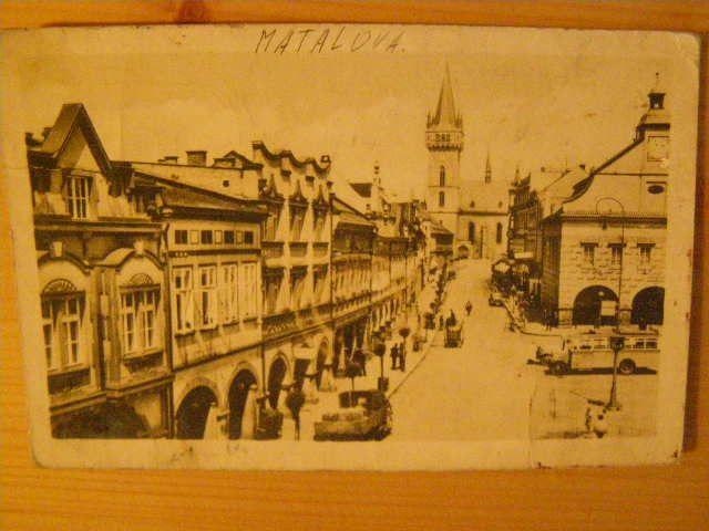 Dvůr Králové - Palackého ulice.