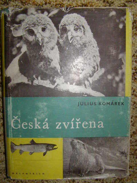 Česká zvířena - J. Komárek