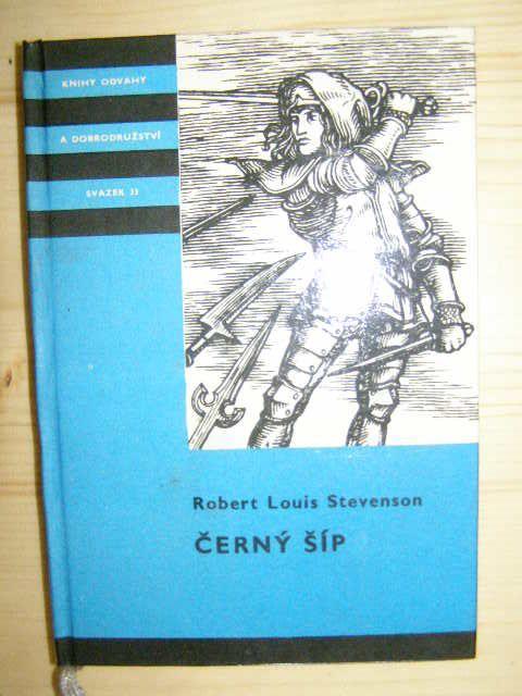 Černý šíp - R. L. Stevenson (KOD)