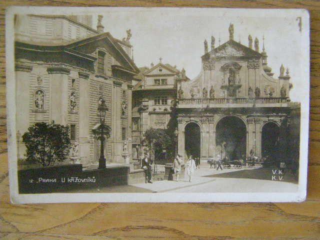 Praha - U křížovníků