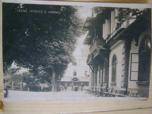 Lázně Teplice - Hranice