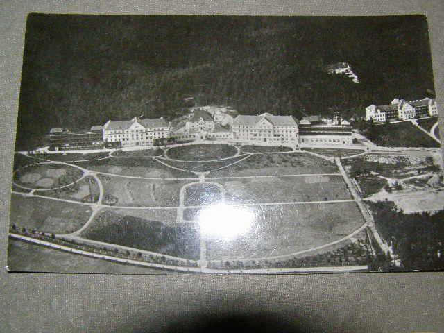 Jevíčko - sanatorium z výšky.