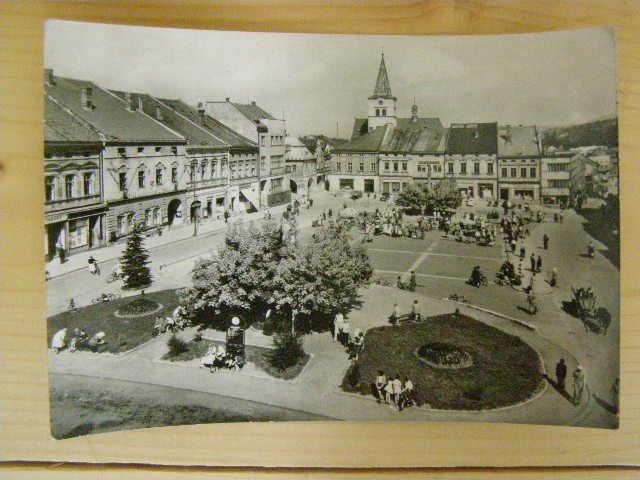 Valašské Meziříčí - Stalingradské náměstí