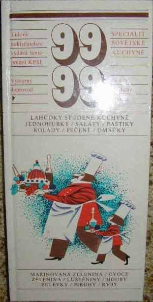 99 specialit sovětské kuchyně -
