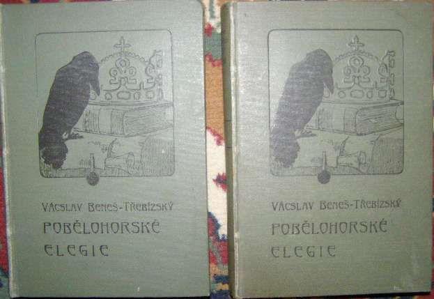 Pobělohorské elegie 1 a 2 - Václav Beneš Třebízský