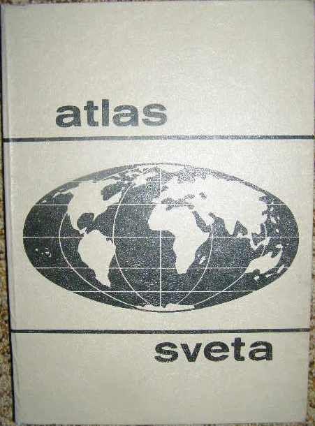 Atlas světa - slovensky.