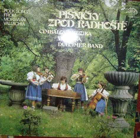 LP Písničky zpod Radhoště - cimbálová muzika Vonička