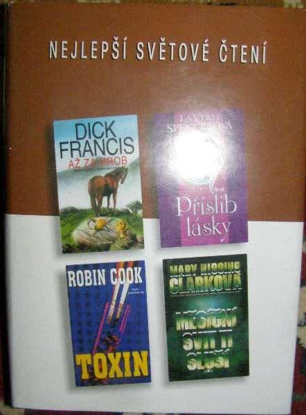 Nejlepší svět. čtení - Až za hrob (D. Francis), Toxin (R. Cook) atzd.