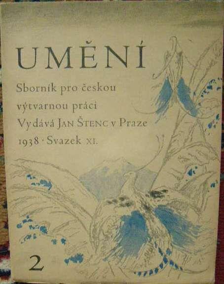 Umění - sborník pro českou výtvarnou práci 2/1938