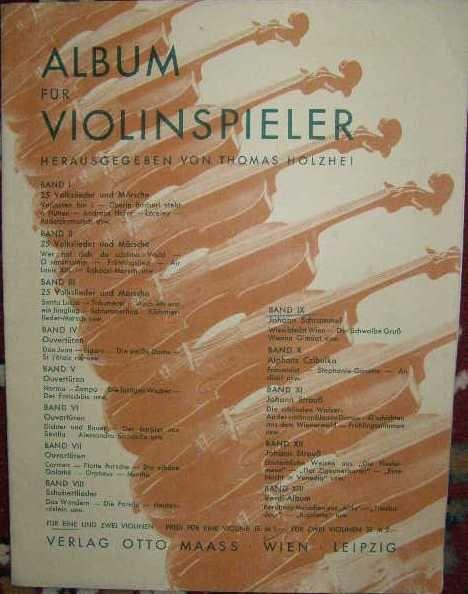 Album pro hráče na housle
