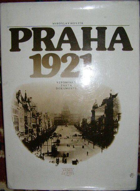 Praha 1921 - M. Honzík