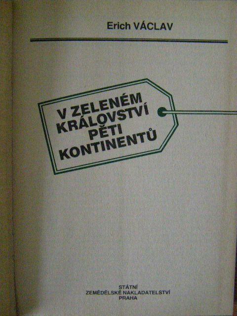 V zeleném království pěti kontinentů - E. Václav