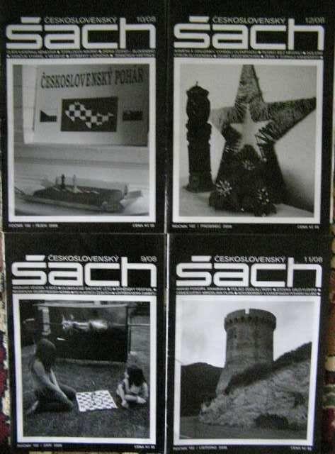 Šach - 4 kusy (9 - 12/2008)