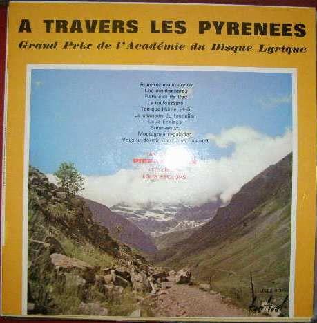 Písně z Pyrenejí - P. Malar
