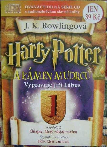 CD Harry Potter a kámen Mudrců 1