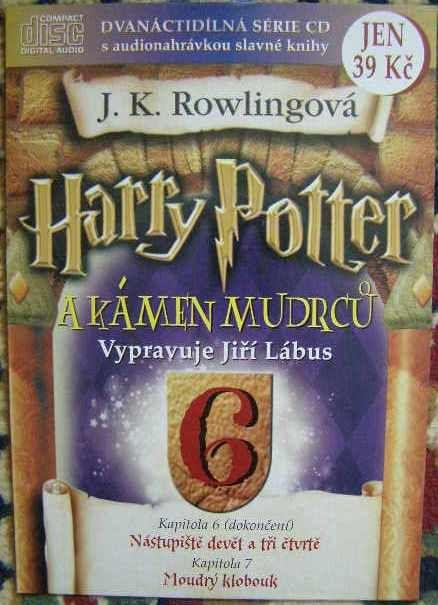 CD Harry Potter a kámen Mudrců 6