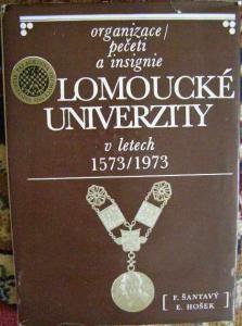 Univerzita Olomouc 1573 - 1973, pečeti a insignie