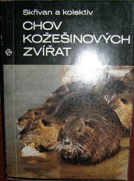 Chov kožešinových zvířat - Skřivan a kol.