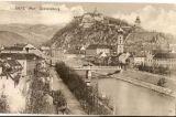 Graz - řeka Mur a zámek