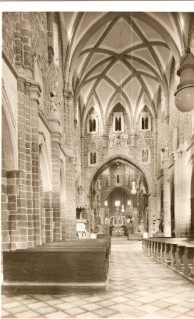 Třebíč - vnitřek baziliky sv. Prokopa
