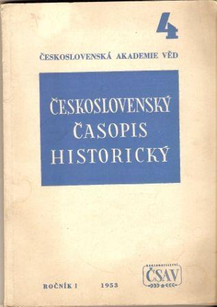 Československý časopis historický 4/1953