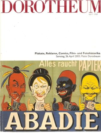 Dorotheum 2003 - Plakát, reklama, komiks atd.