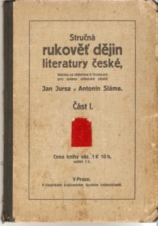 Stručná rukověť dějin literatury české - 1914