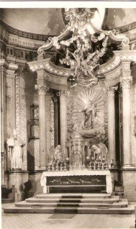 Svatý Hostýn - hlavní oltář (1949)