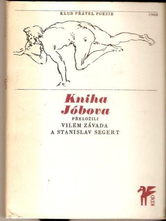 Kniha Jóbova - překlad V. Závada, S. Segert