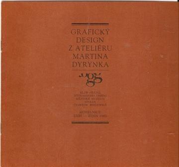 Grafický desing z ateliéru M. Dyrynka - katalog