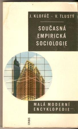 Současná empirická sociologie - Klofáč - Tlustý