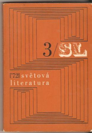 Světová literatura 3/1972