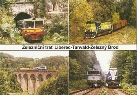 Železniční trať Liberec - Tanvald - Železný Brod