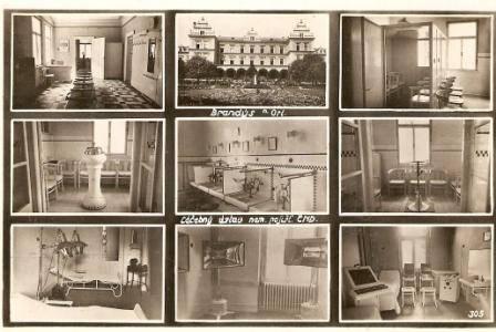 Brandýs nad Orlicí - interiéry léč. ústavu