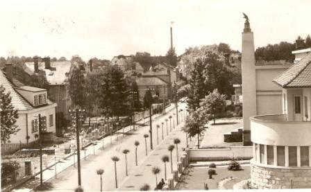 Lázně Bělohrad - ulice dr. Zamenhofa