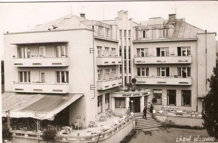 Lázně Bělohrad - grand hotel Urban