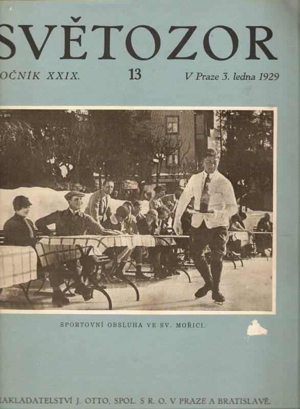 Světozor 13/1929