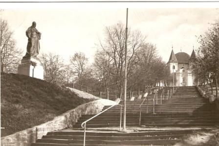 Svatý Hostýn - schody