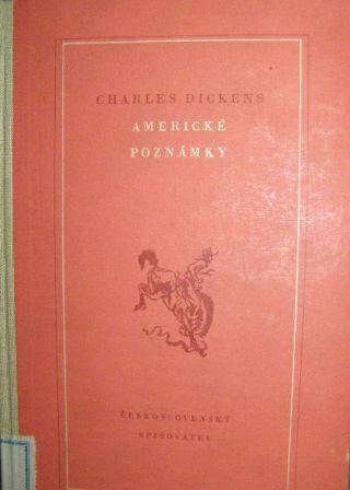 Americké poznámky - Ch. Dickens