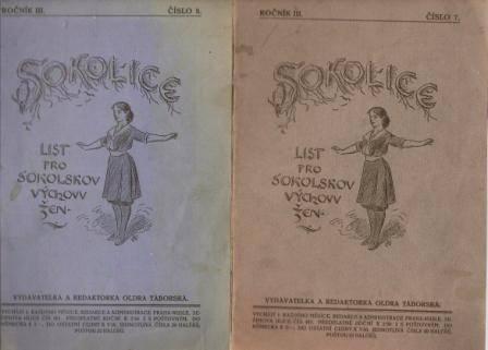Sokolice 7 a 8/1915 - list pro sokolskou výchovu žen
