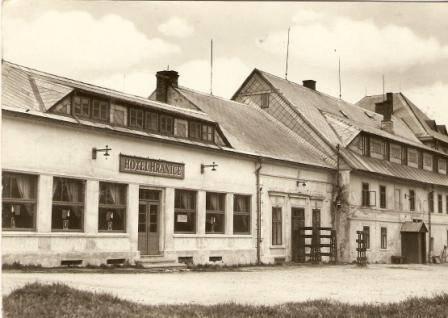 Moldava - hotel Hranice