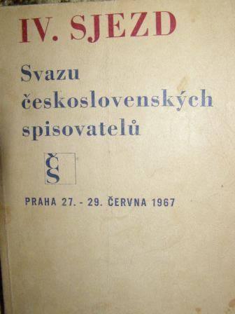 IV. sjezd Svazu československých spisovatelů 1967