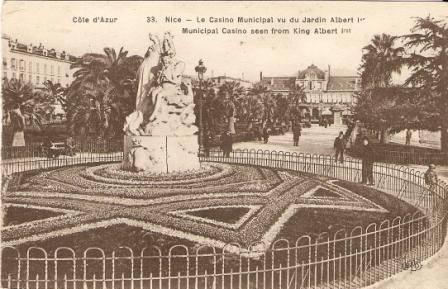 Nice - Le Casino Municipal (Francie)